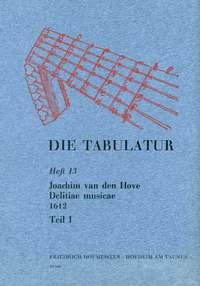 Joachim van den Hove: Die Tabulatur, Heft 13