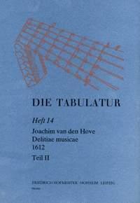 Joachim van den Hove: Die Tabulatur, Heft 14