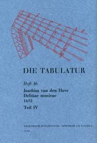 Joachim van den Hove: Die Tabulatur, Heft 16