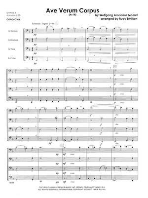 Mozart: Ave Verum Corpus