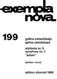 Galina Ustvolskaya: Sinfonie Nr. 5