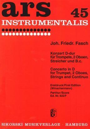 Johann Friedrich Fasch: Konzert