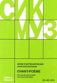 Aram Il'yich Khachaturian: Chant-Poème