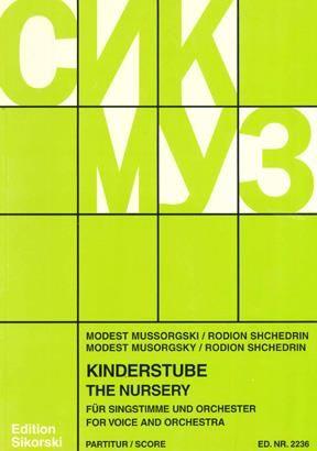 Modest Mussorgsky: Kinderstube