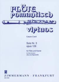 Ciardi, C: 3 Soli op. 126