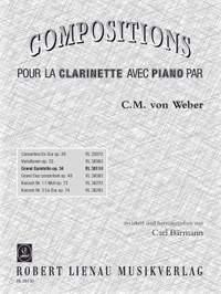 Weber, C: Clarinet Quintet in B flat Op.34