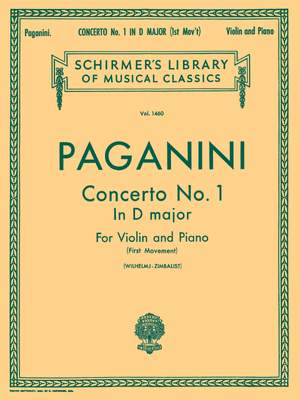 Niccolò Paganini: Violin Concerto No.1 In D First Movement