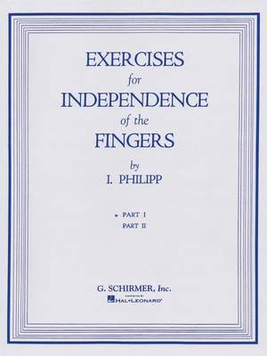 Isidore Philipp: Exercises for Independence of Fingers - Book 1