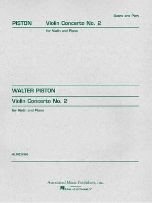 Walter Piston: Violin Concerto No.2