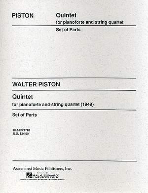 Walter Piston: Piano Quintet