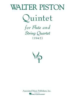 Walter Piston: Quintet For Flute And String Quartet