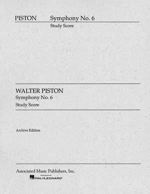 Walter Piston: Symphony No.6