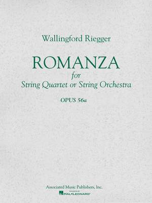 Wallingford Riegger: Romanza, Op. 56a