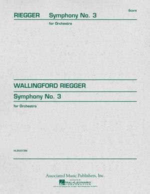 Wallingford Riegger: Symphony No. 3, Op. 42