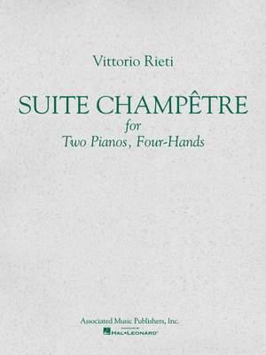 Vittorio Rieti: Suite Champêtre (set)