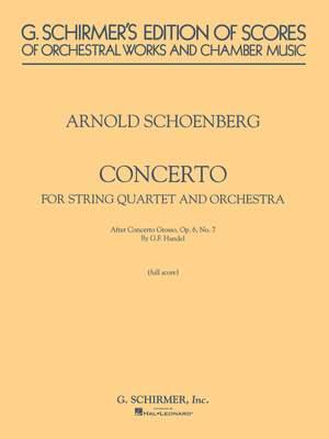 Arnold Schönberg: Concerto
