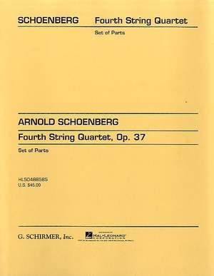 Arnold Schönberg: String Quartet No. 4, Op. 37