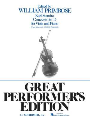 Carl Stamitz: Concerto in D, Op. 1
