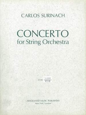Carlos Surinach: Concerto for String Orchestra (1959)