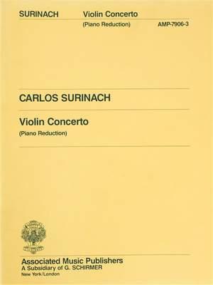 Carlos Surinach: Concerto