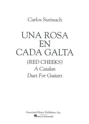 Carlos Surinach: Una Rosa en Cada Galta