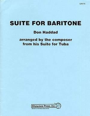 Don Haddad: Suite For Baritone