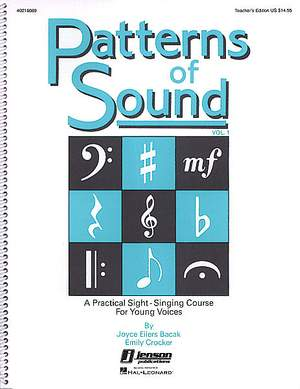 Emily Crocker_Joyce Eilers: Patterns of Sound - Vol. I (Teacher)