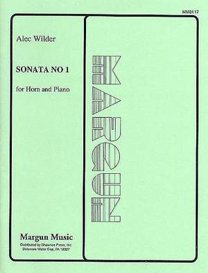 Alec Wilder: Sonata No. 1 for Horn and Piano