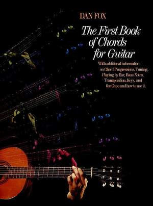 Dan Fox: The First Book of Chords for the Guitar Product Image