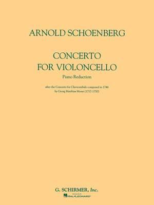 Arnold Schönberg: Concerto for Violoncello and Orchestra