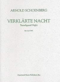 Arnold Schönberg: Verklärte Nacht (Transfigured Night), Op. 4