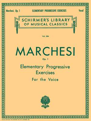 Mathilde Marchesi: Elementary Progressive Exercises, Op. 1