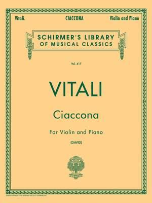 Tomaso Antonio Vitali: Ciaccona