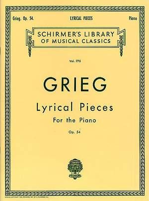 Edvard Grieg: Lyrical Pieces Op.54