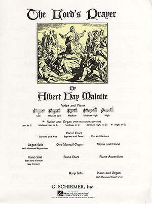 Albert Hay Malotte: The Lord's Prayer (Piano)
