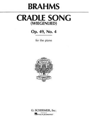 Johannes Brahms: Cradle Song (Wiegenlied) Op.49 No.4
