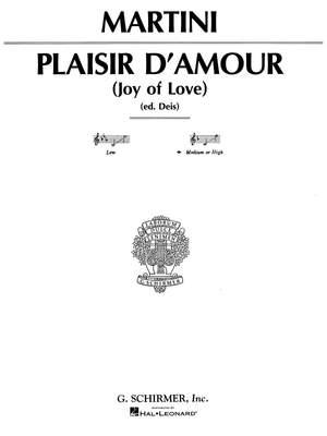 Giovanni Battista Martini: Piacer d'amor (The Joys of Love)