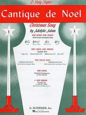 Adolphe Charles Adam: Cantique De Noel (Organ)