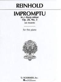 Hugo Reinhold: Impromptu, Op. 28, No. 3 in C#