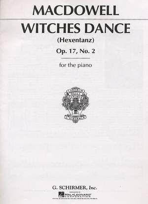 Edward MacDowell: Witches' Dance