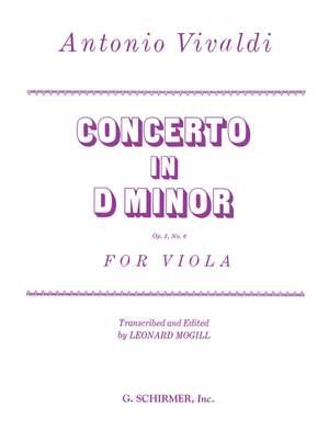 Antonio Vivaldi: Concerto d-minor Op.3 No.6 Viola-Piano