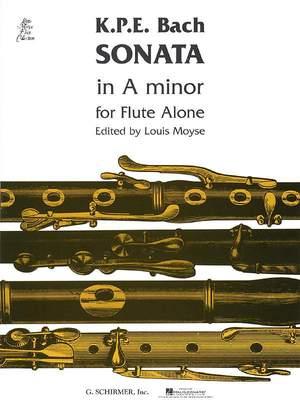 Carl Philipp Emanuel Bach: Sonata in A minor