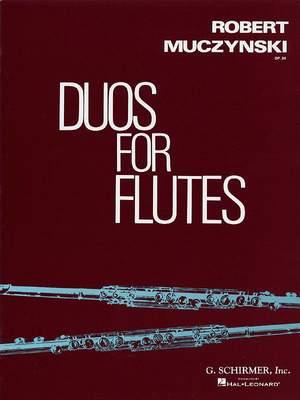 Robert Muczynski: Duos for Flutes, Op. 34