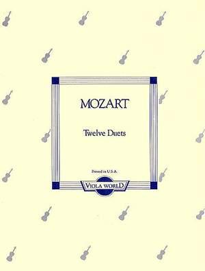 Wolfgang Amadeus Mozart: Twelve Duets K.487