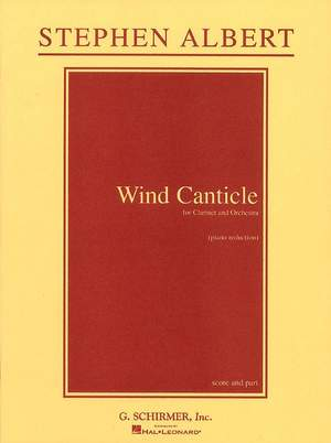 Stephen Albert: Wind Canticle