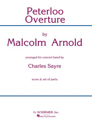 Malcolm Arnold: Peterloo Overture