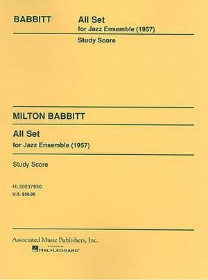 Milton Babbitt: All Set (1957)