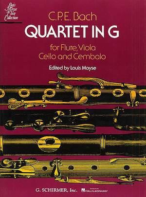 Carl Philipp Emanuel Bach: Quartet in G