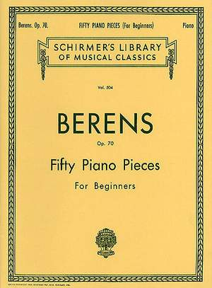 Hermann Berens: 50 Pieces without Octaves, Op. 70