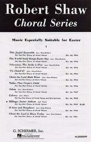 William Billings: Easter Anthem